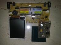 """uLCD-test"" Atmega32, Siemens LCD, Bascom."