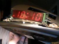 Przerobienie radiobudzika na zegar ścienny LED