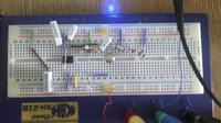 klucz tranzystorowy do sterowania diodą led
