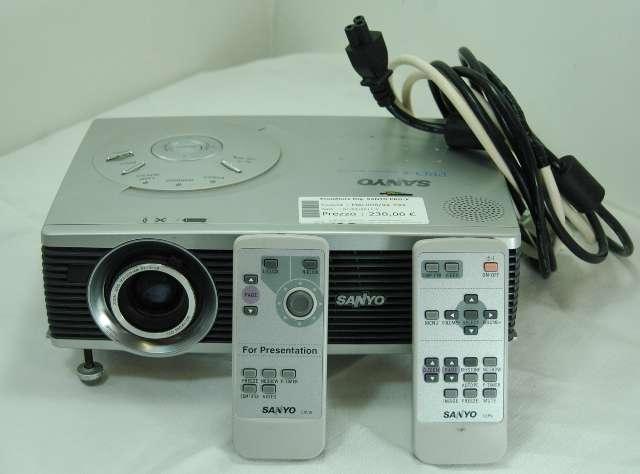 sanyo pro-x plc-sw30 - Brak sygna�u z laptopa na projektorze