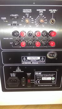 Podłączanie Subwofera aktywnego po kablu głośnikowym