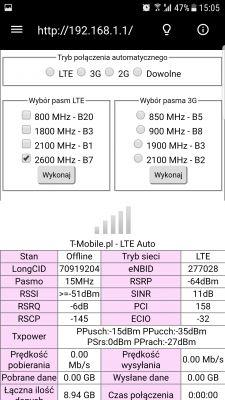 Jaka antena lte b525 3 km nadajnik