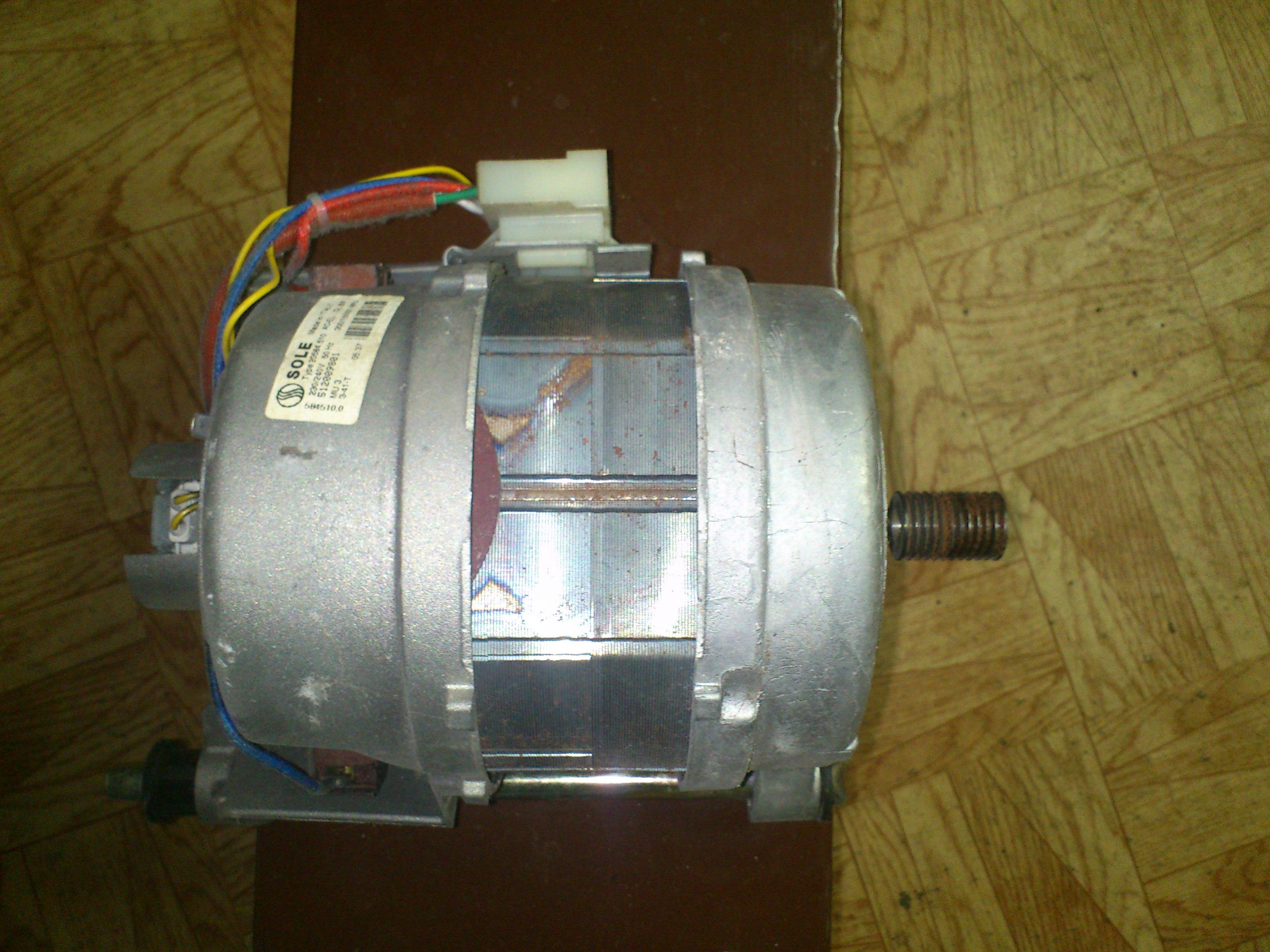 Pralka ARDO - Przer�bka sterownika silnika pralki Ardo