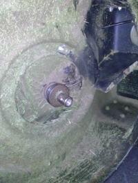 Kosiarka z napędem - Naciąg paska klinowego