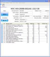 Western Digital 120gb- Dziwne dźwięki dochodzące z dysku