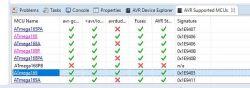 AVRDude i Atmega168PB brak komunikacji z procesorem z poziomu Eclipse