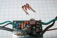 AVT-2481 - Mininadajnik FM strojenie cewki