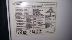 Lodówka Samsung RSH1PTIS Side by Side - przestała chłodzić.