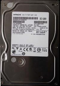 HITACHI 320GB SATA wym. elektroniki przeprogramowanie NVRAM