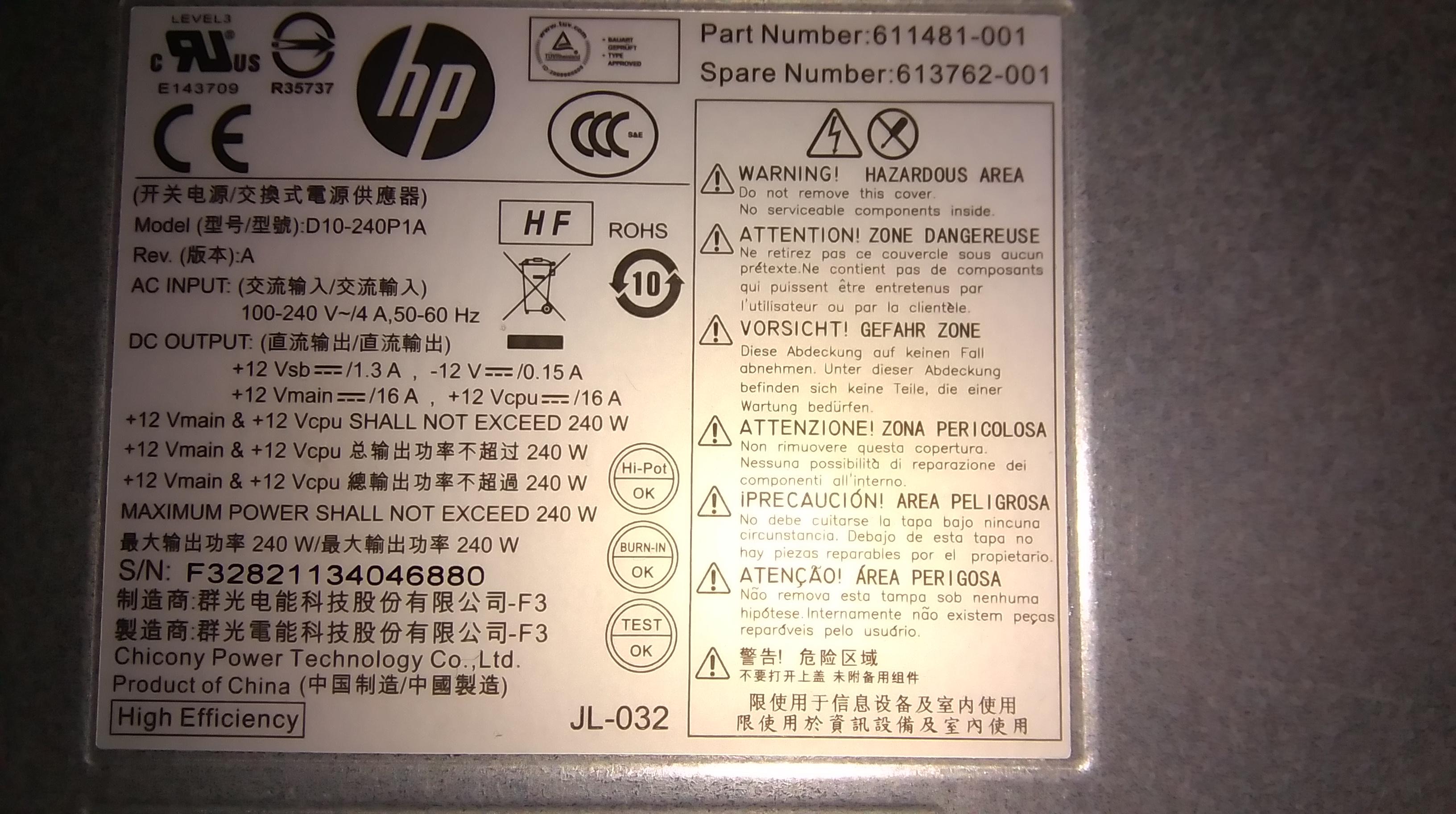 HP COMPAQ ELITE 8200 SFF i karta graficzna - elektroda pl