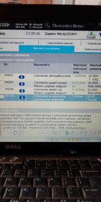 Actros 1851 mp4 zbyt wysokie ciśnienie adblue