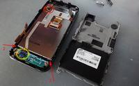 Samsung Avila GT-S5230 - Avila GT-S5230 ta�ma przycisk�w telefonu