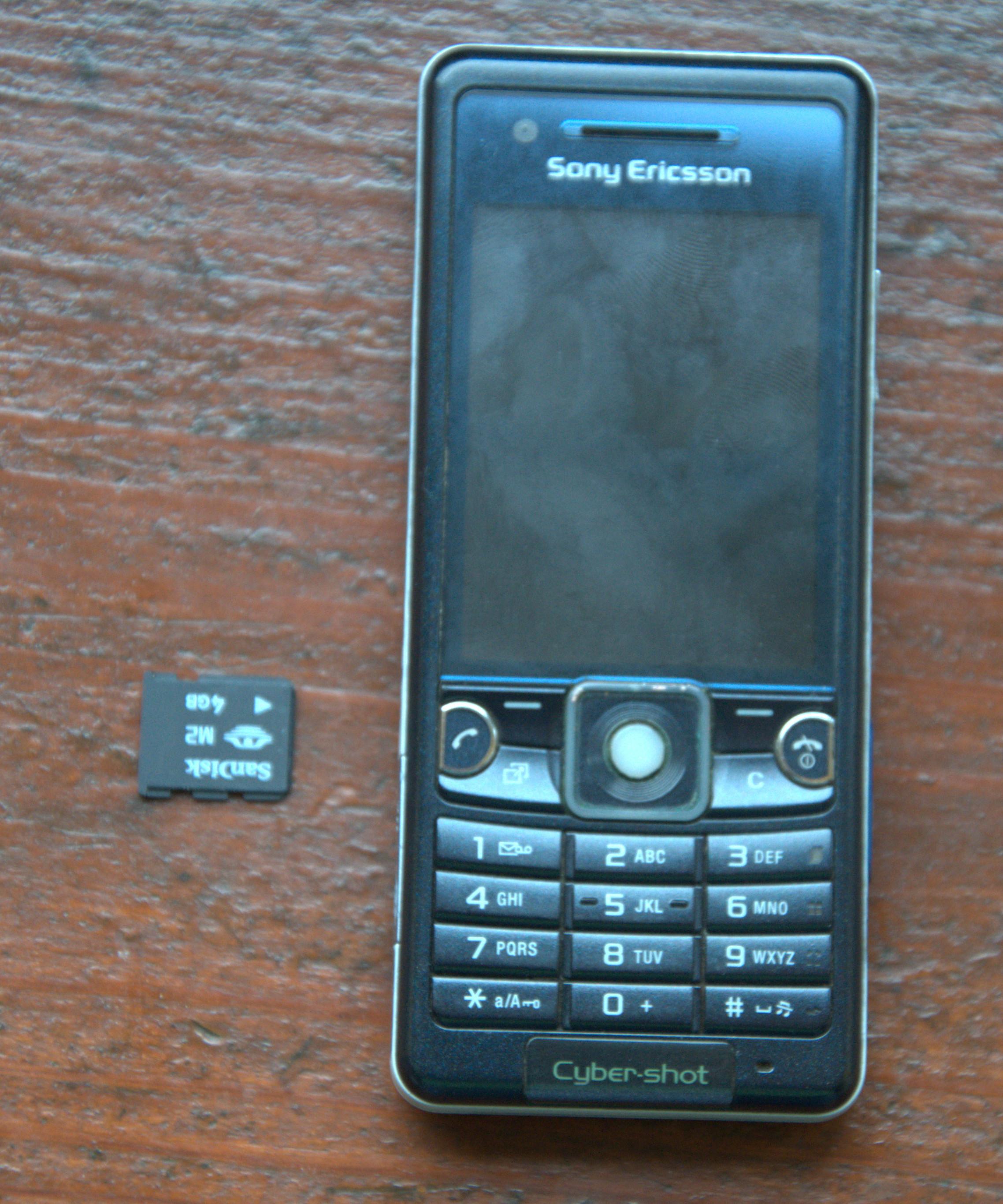 [Sprzedam] Sony Ericsson C510 - BEZ SIMLOCKA, karta 4GB