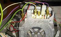 Zmywarka BoschSGI 55M35 EU/70 - pod��czenie silnika pompy myj�cej