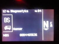 Mercedes Actros MP3 1844 2010r Kod błędu BS
