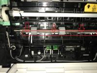 Samsung C460FW - Zacięcie papieru po wymianie fusera