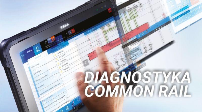 Wstępna ocena układu zasilania Common Rail przy pomocy testera diagnostycznego