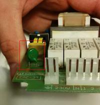Okap Gorenje DT6545GES - Spalony warystor w okapie