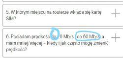 Problem z prędkością internetu domowego T-Mobile.