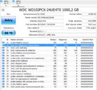 WDC WD10JPCX-24UE4TO - Dziwne zachowanie dysku talerzowego
