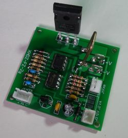 Electronic load module 100V, 10A, 75W, commissioning, test