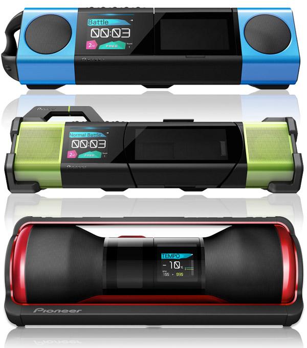 Pioneer STEEZ Audio Gear - trzy stacjonarne odtwarzacze MP3 dla urz�dze� iOS