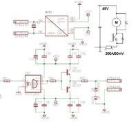 Sterownik silnika 48V - Przepięcia na bramce tranzystora