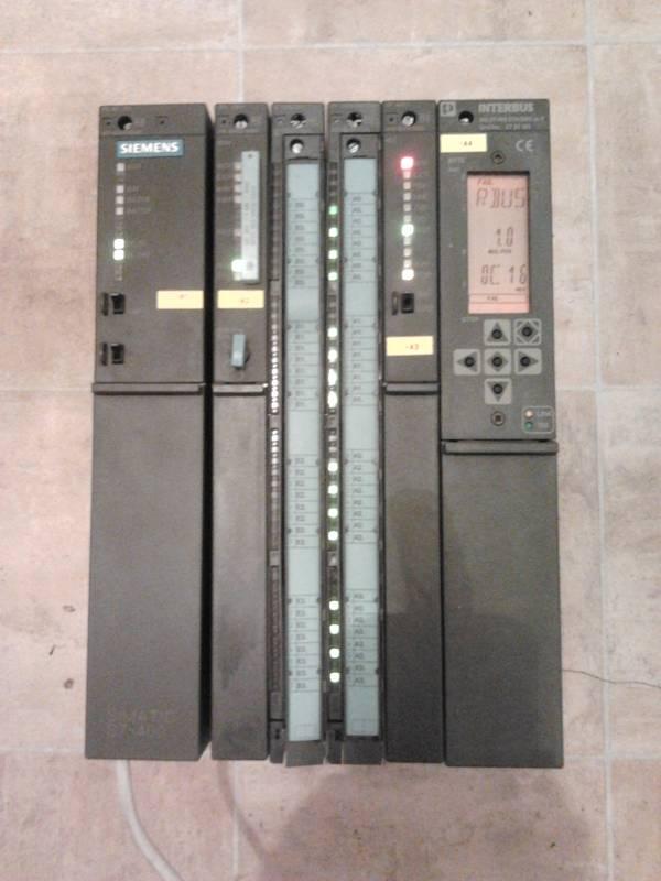 [Sprzedam] Sterownik Siemens S7-400 zbudowany na CPU 416-2