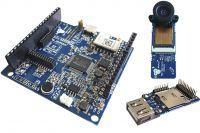 RAK WisKam - płytka prototypowa z N32905R3DN i modułem kamery VGA