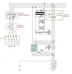 Myjka przemysłowa silnik 5,5kW - Skrzynka sterownicza, jak podłączyć do silnika