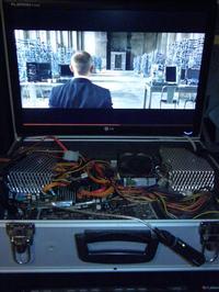 Przeno�ny komputer w walizce