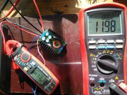 Przetwornica DC/DC buck 9A 300W - nagrzewanie i pseudotesty EMC