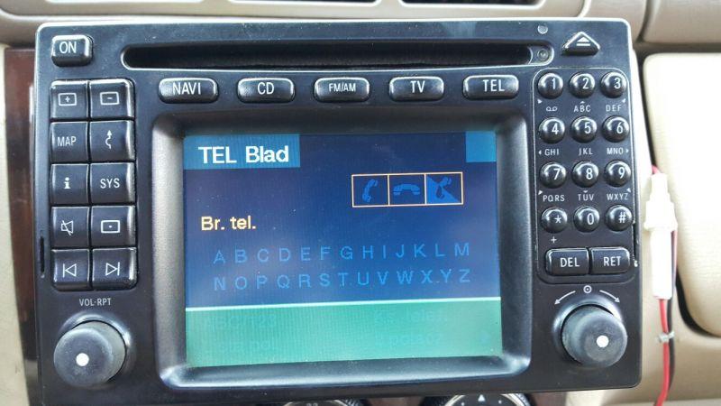 MB w 163 Radio nie ma telefonu - Kupiłem Mercedesa w163 i nie mam kontroli nad r