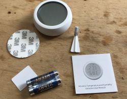 Zigbee temperature/humidity sensor with LCD TS0201 RSH-Z-Bee-HS01 Tuya
