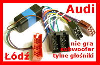LG LCS510IR i brak dźwięku w tylnych głośnikach AUDI A6