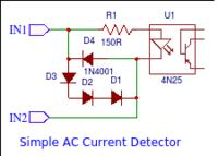 Pomiar prądu przemiennego na PCB sterownika