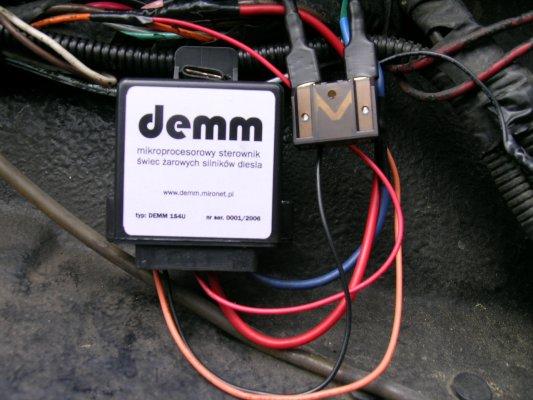 Mecedes 115 2.0D przekaźnik świec żarowych
