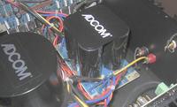 Wzmacniacze mocy audio - zdjęcia, dane techniczne.