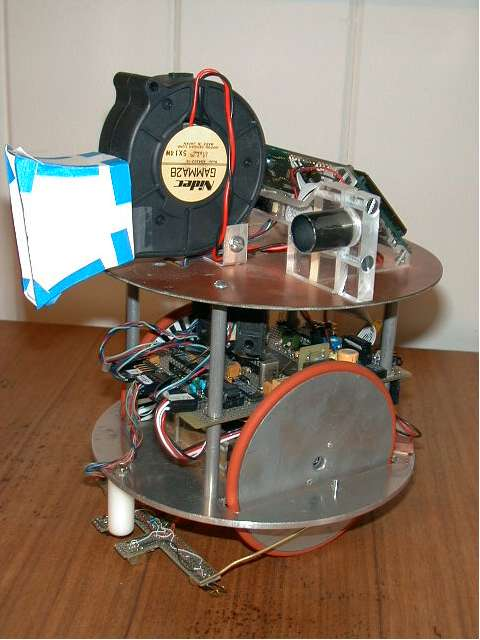 Dilbert - robot gaśnica