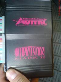 Alarm samochodowy Avital Champion Mark 2 - Nissan Almera n15