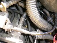 Opel Vectra 2.0 schemat układu podciśnienia