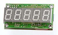 Woltomierz panelowy 4 1/2 cyfry na ICL7135