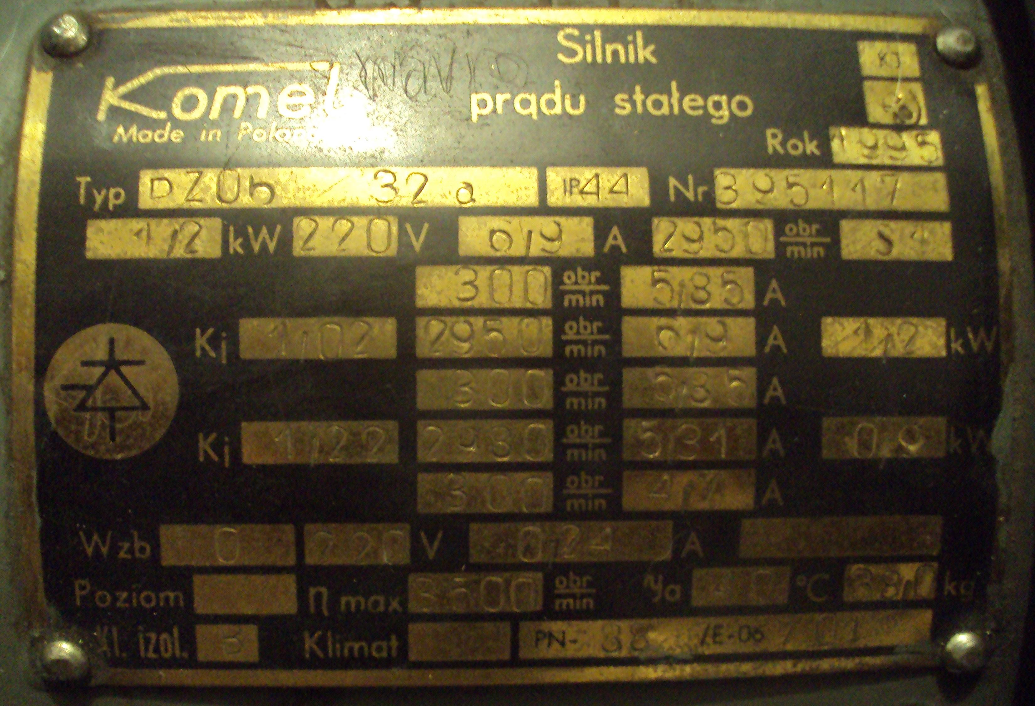 Silnik obcowzbudny - Tyrystorowa/oporowa regulacja obrot�w