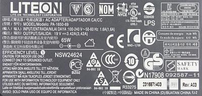 LiteOn model:  PA-1650-69 OUT-19V/3,42A - Tranzysystor I13NK60Z zamiennik.