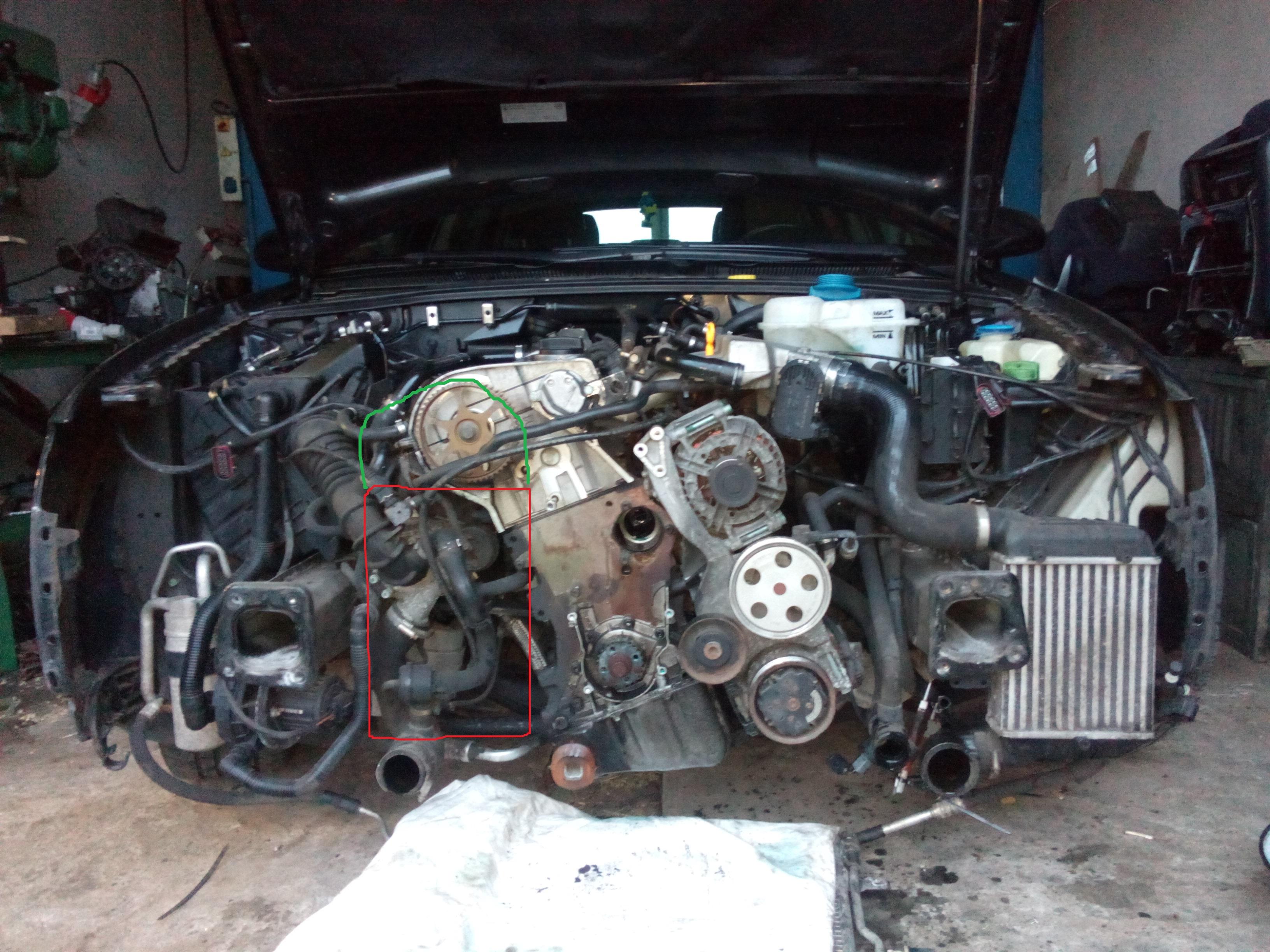 Audi A4 B7 18t 163km Wyciek Oleju Elektrodapl