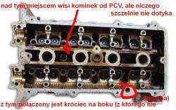 Mazda 626 1.8 1998r. - odma a zawór PCV - różnice w przeznaczeniu, zasada dział.