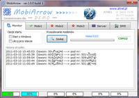 MobiArrow - tania komunikacja - strzałki, SMSy, PHP na PC