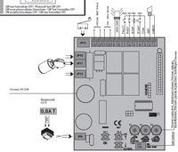 Automatyczne zaplanie halogen�w LED 230 / W��cznik dzwonkowy do otwierania bramy