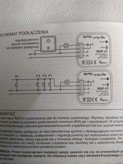 Rdp-21 - jak podłączyć świetlówki LED?