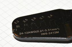 Zaciskarka IWISS IWS-2412M - recenzja